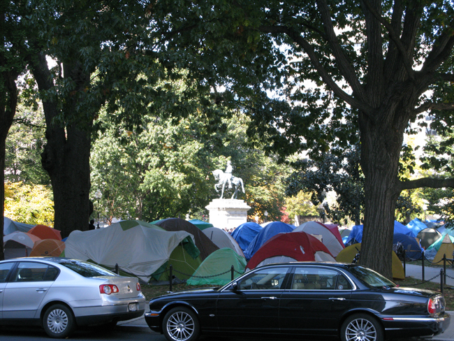 Occupy D.C. - McPherson Square