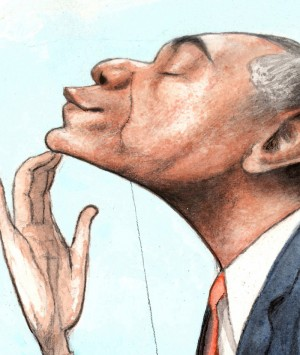 Obamalloon Detail