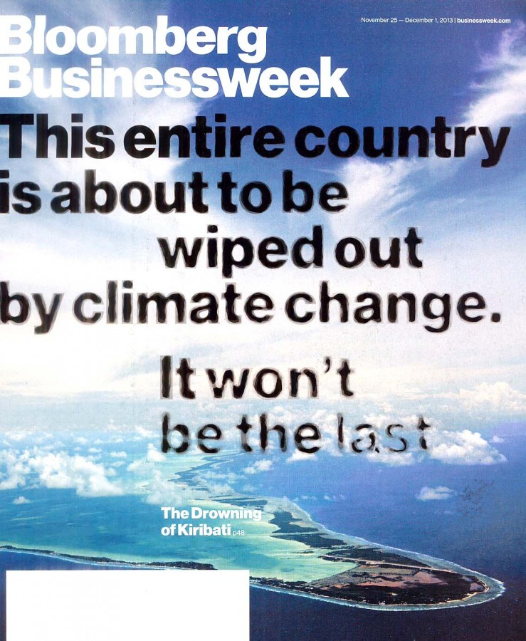 Businessweek Climate cover