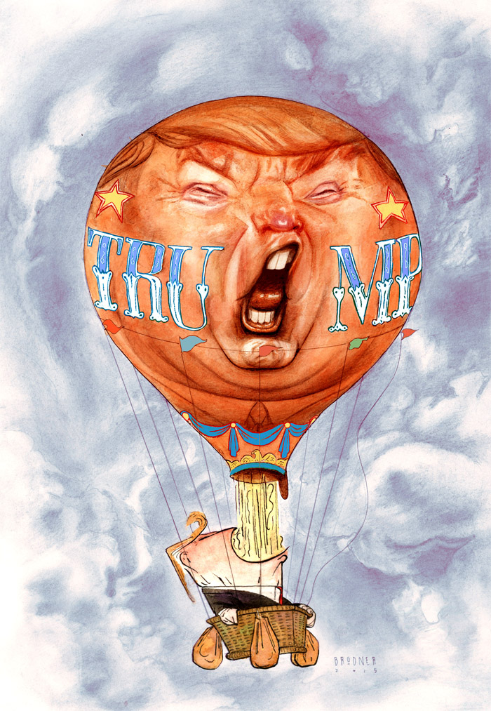 OFFICIAL TRUMP BALLOON700